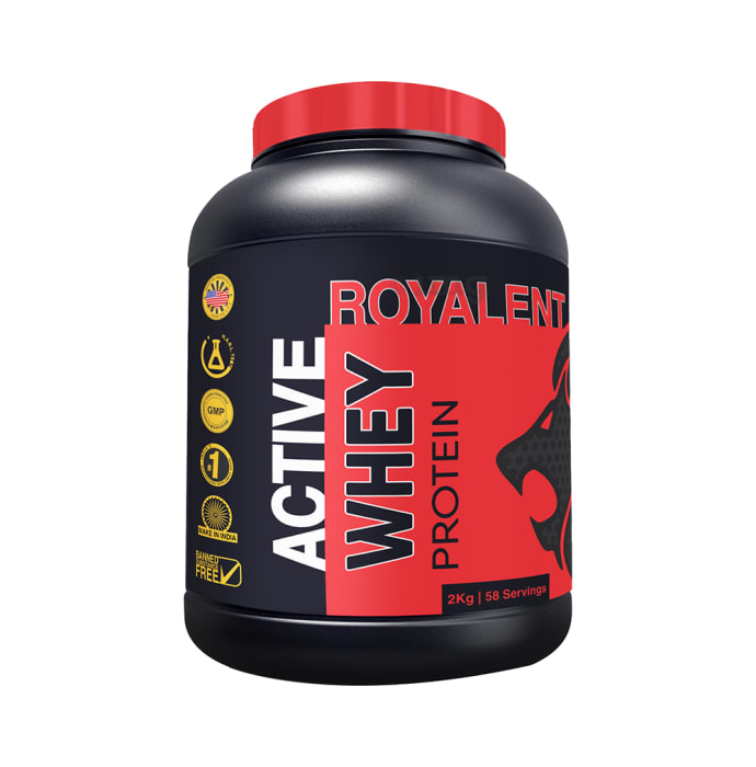 Royalent Whey Active Protein Powder Strawberry