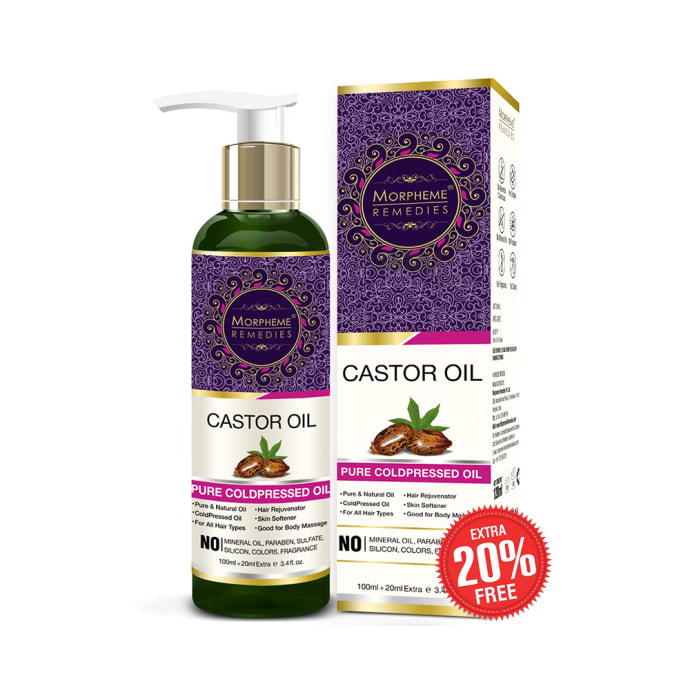Morpheme Remedies Castor Pure Coldpressed Oil