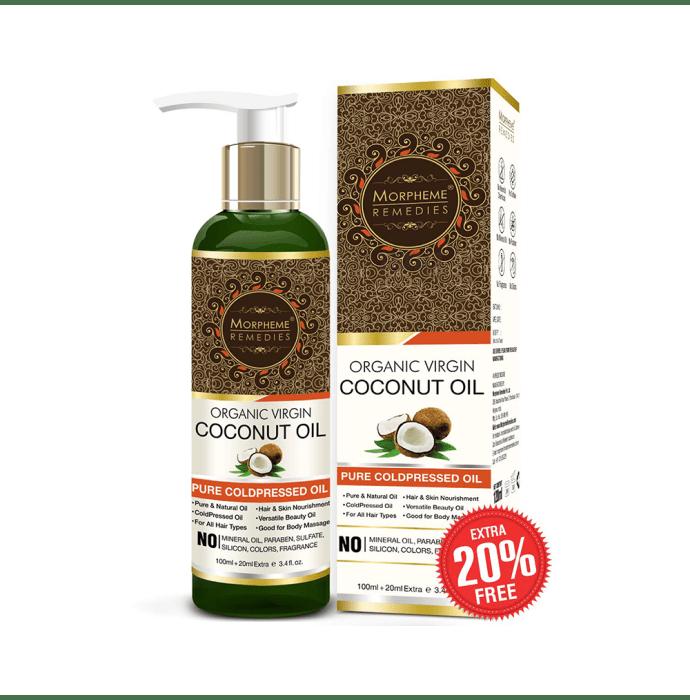 Morpheme Pure Organic Virgin Coconut Coldpressed Oil
