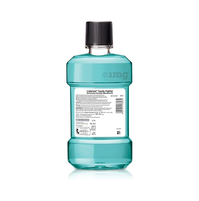 Listerine Cavity Fighter Mouth Wash