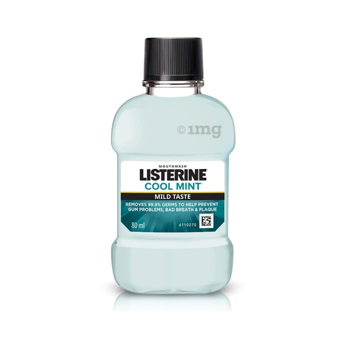 Listerine Mouth Wash Cool Mint Mild Taste