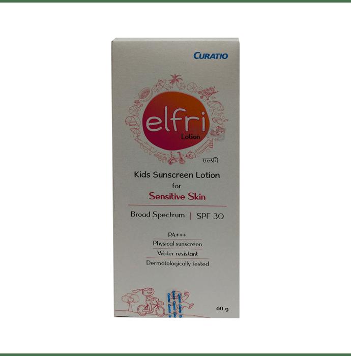 Elfri Kids Sunscreen Lotion SPF 30