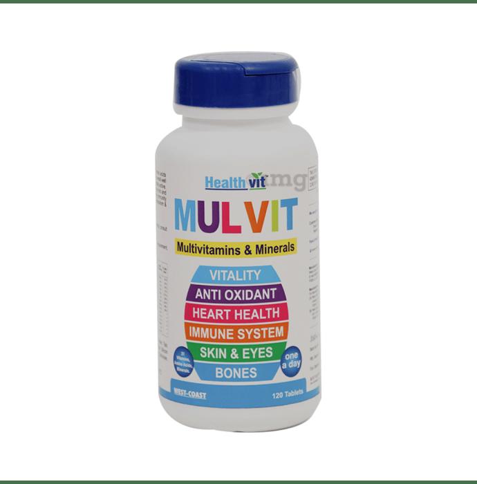 HealthVit Mulvit Multivitamins & Minerals Tablet