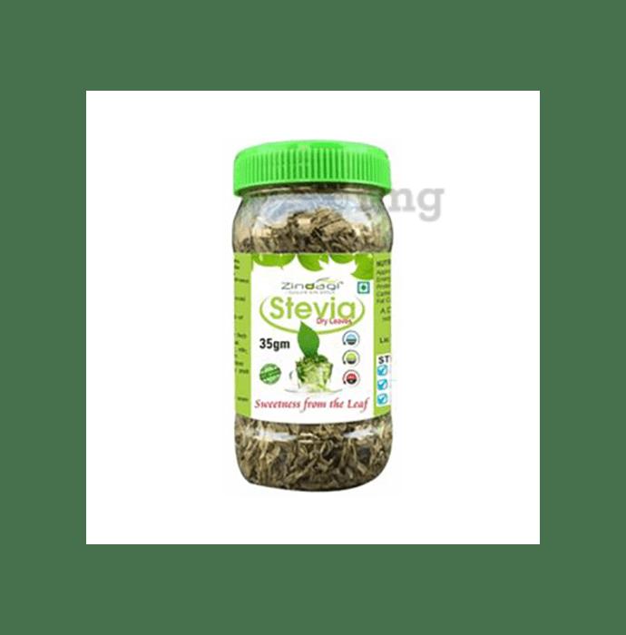 Zindagi Stevia Dry Leaves Buy 8 Get 2 Free - 35 gm Each