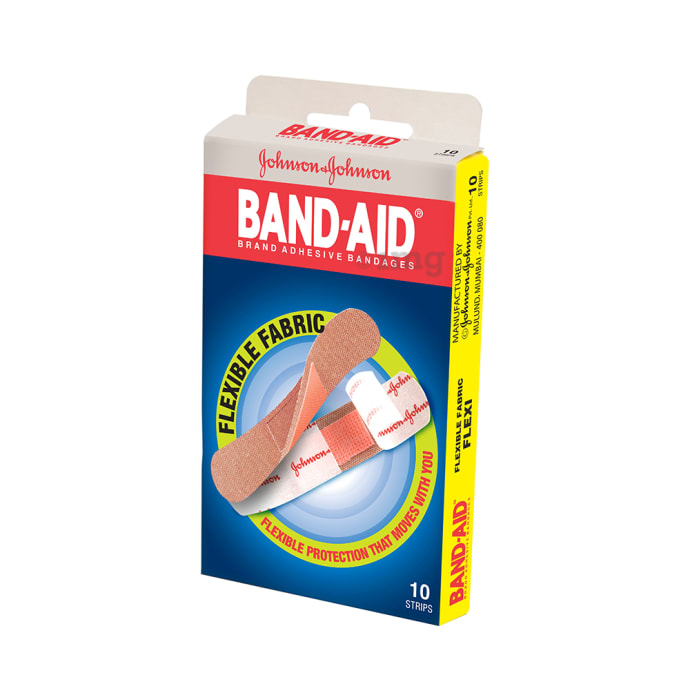 Johnson's Flexible Fabric Band-Aid (Strips)