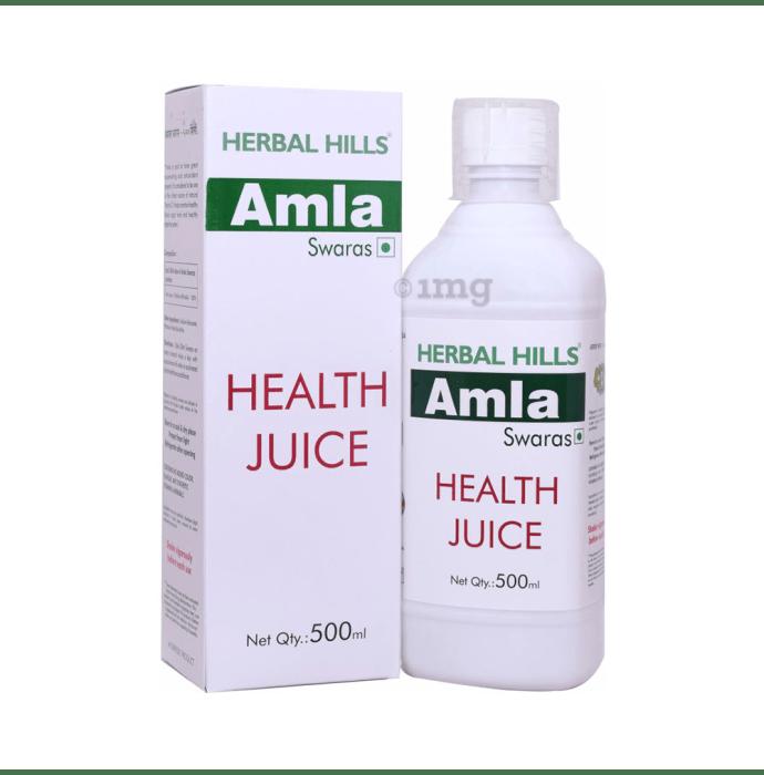 Herbal Hills Amla Swaras Health Juice Pack of 2