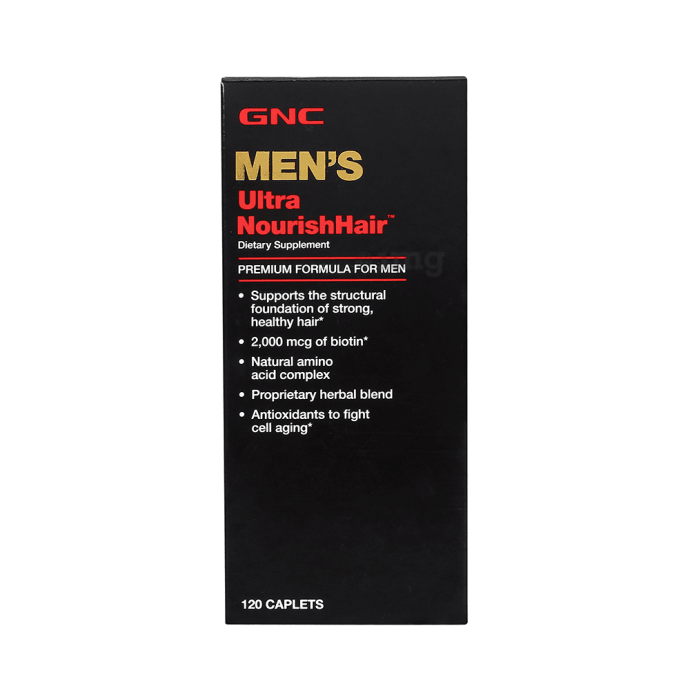 GNC Men's Ultra Nourish Hair Caplet