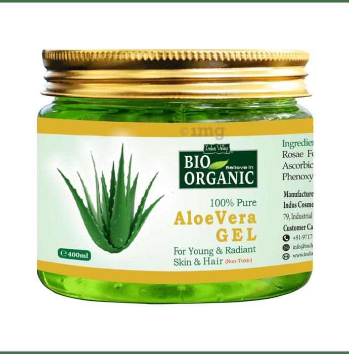 Indus Valley Bio Organic Aloe Vera Gel 100% Pure