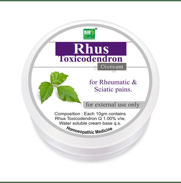Bio India Rhus Toxicodendron Ointment