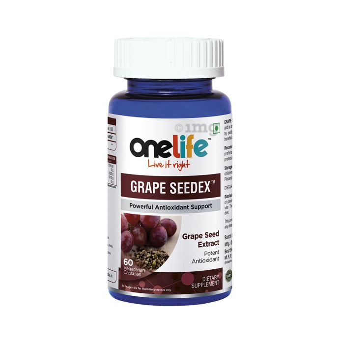 OneLife Grape Seedex Vegetarian Capsule