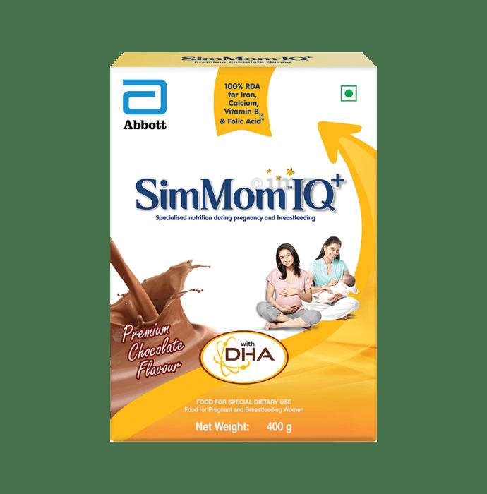 SimMom IQ+ Powder Premium Chocolate