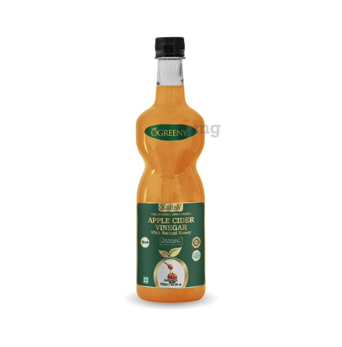 Ogreeny Apple Cider Vinegar with the Mother with Natural Honey