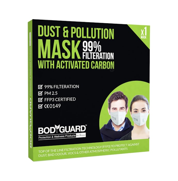 Bodyguard Dust & Pollution Mask with Activated Carbon