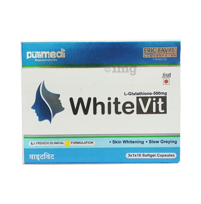 Eric Favre White Vit 500mg Softgel Capsules