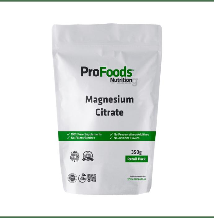 ProFoods Magnesium Citrate Powder