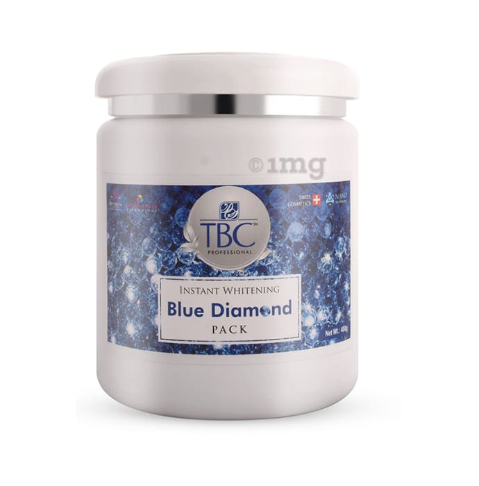 TBC Face Pack Instant Whitening Blue Diamond