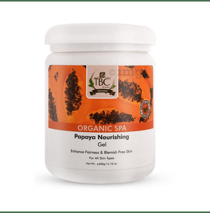 TBC Massage Gel Organic Spa Papaya Skin Whitening