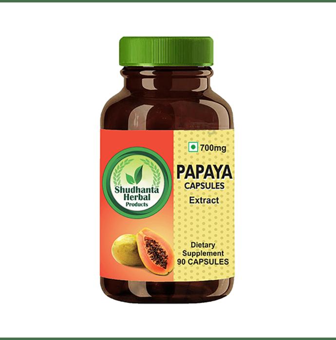 Shudhanta Herbal Papaya 700mg Capsule
