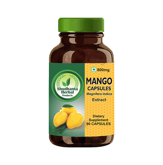 Shudhanta Herbal Mango 800mg Capsule