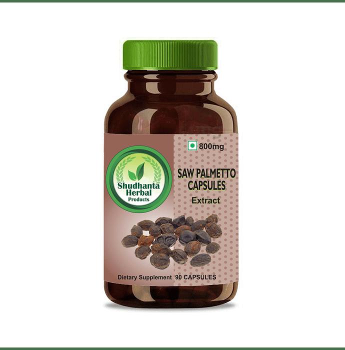 Shudhanta Herbal Saw Palmetto 800mg Capsule