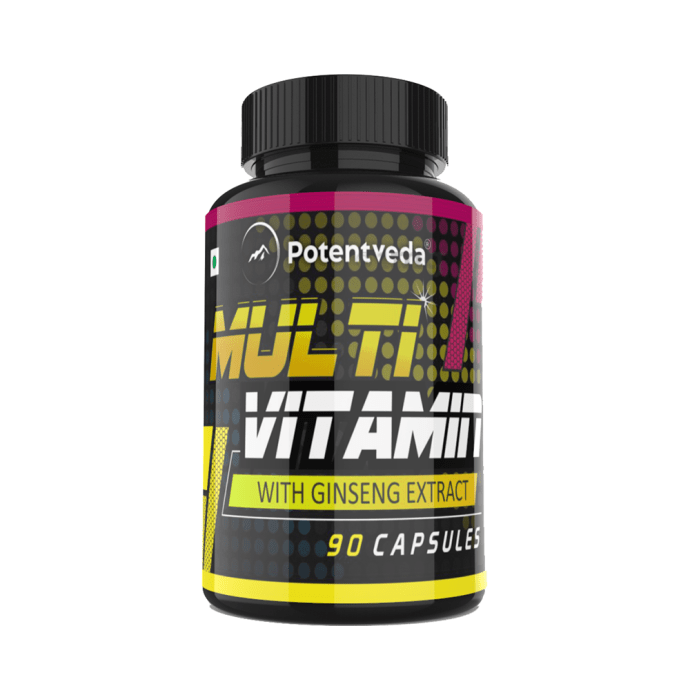 Potentveda Multivitamin with Ginseng Extract Capsule