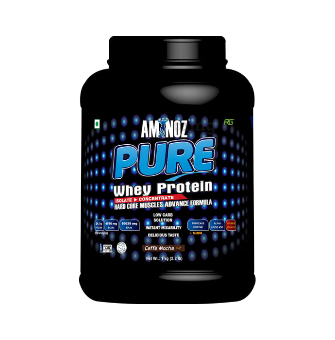 Aminoz Pure Whey Protein Cafe Mocha