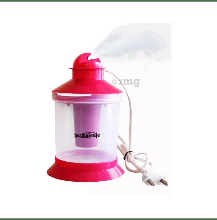 Healthgenie 3 in 1 Steam Sauna Vaporizer Regular Pink
