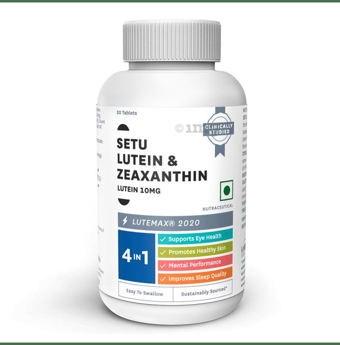 Setu Lutein + Zeaxanthin Tablet