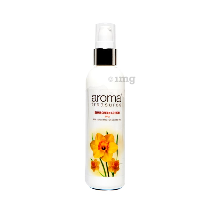 Aroma Treasures Sunscreen  Lotion SPF 20