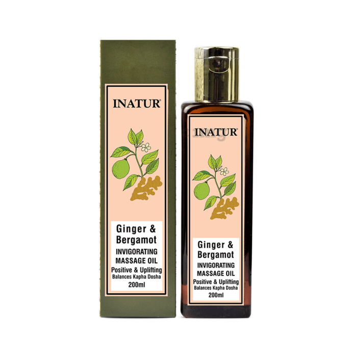 Inatur Herbals Massage Oil Invigorating