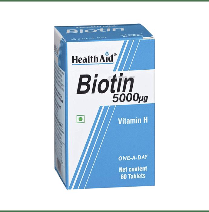 Healthaid Biotin 5000mcg Tablet
