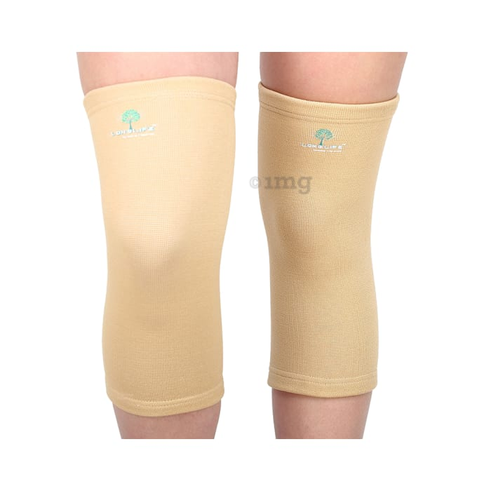 Longlife OCT 001 Classic Knee Support XL Skin Colour