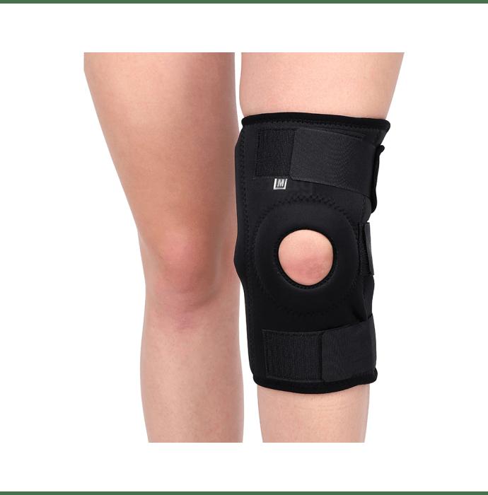 Longlife OCT 003 Hinge Knee Support L Black