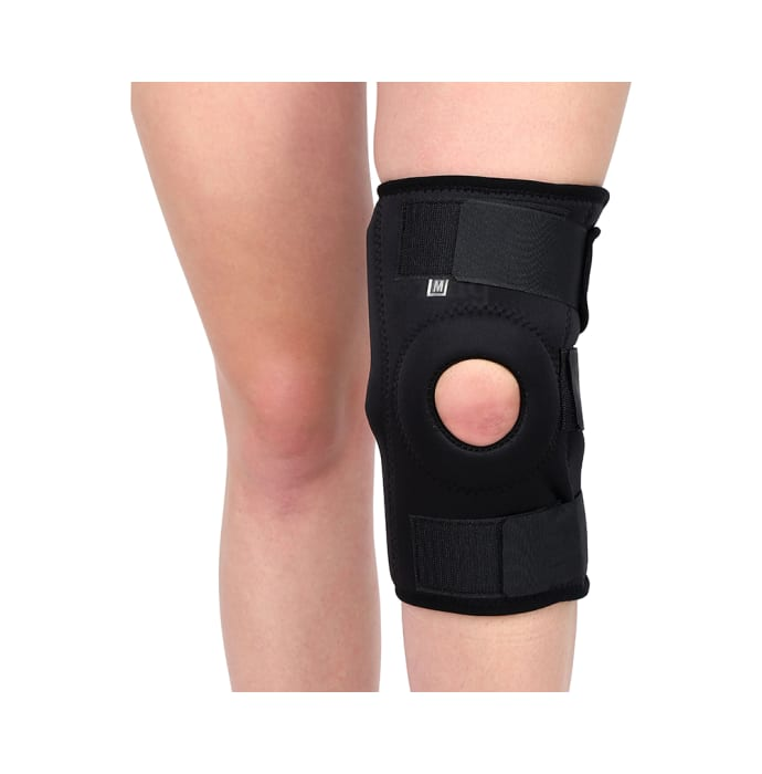 Longlife OCT 003 Hinge Knee Support XL Black
