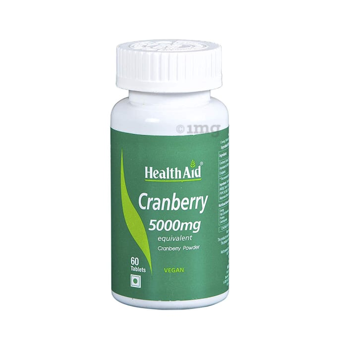 Healthaid Cranberry 5000mg Tablet