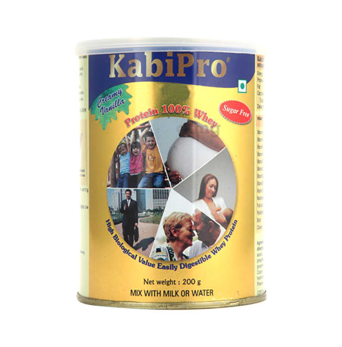 Kabipro Protein 100% Whey Powder Creamy Vanilla