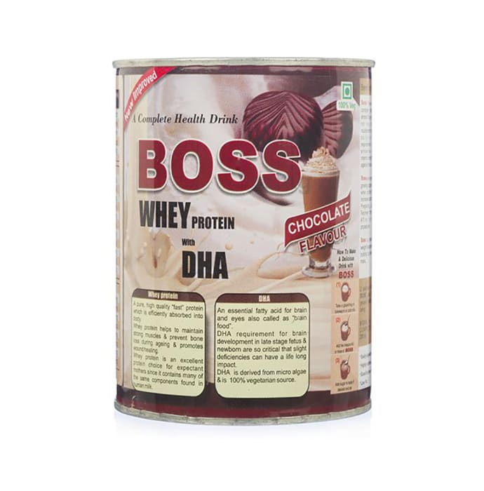 Boss Whey Protein with DHA Powder