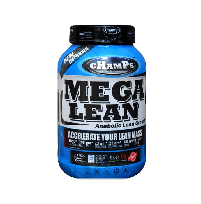 Champs Mega Lean Chocolate Brownie with Gym Bag Free