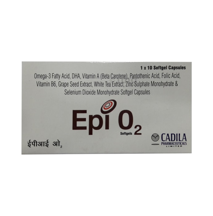 Epi O2 Soft Gelatin Capsule