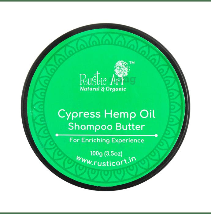 Rustic Art Shampoo Butter Cypress Hemp Oil