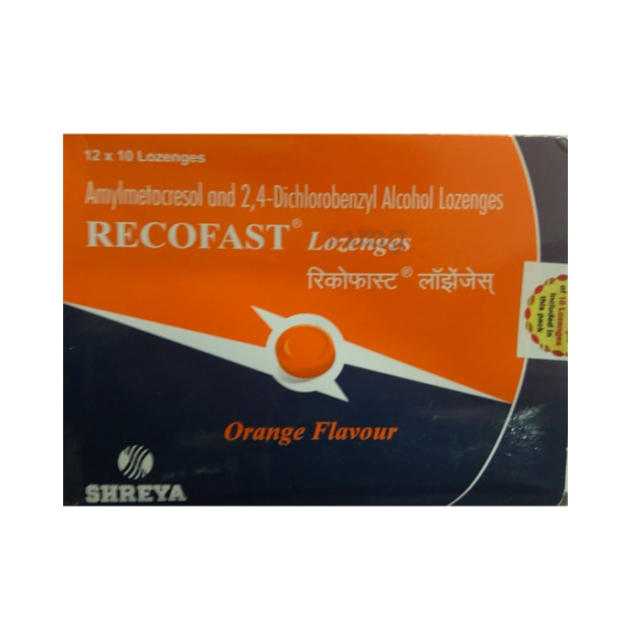 Recofast Lozenges Orange