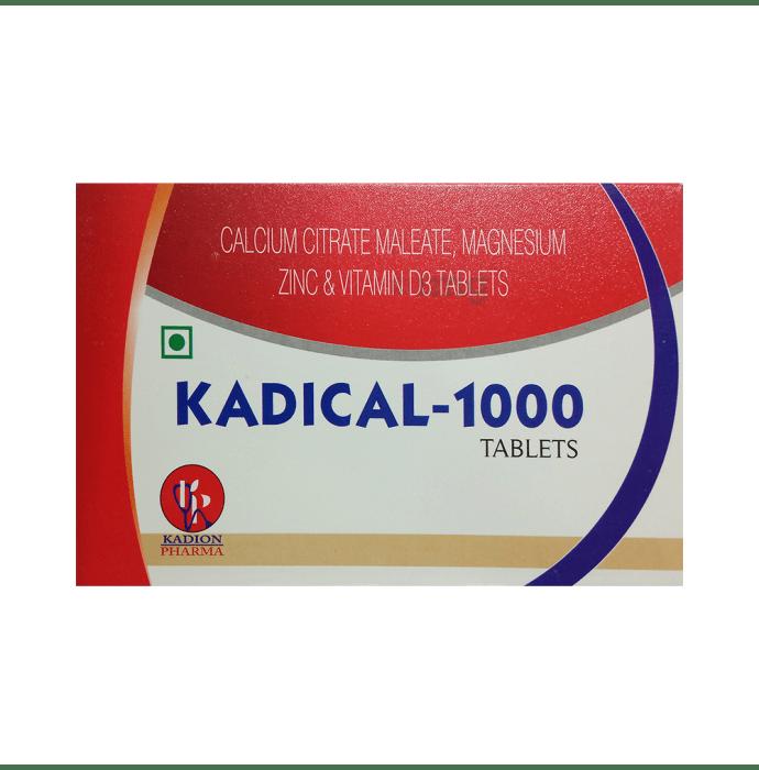 Kadical-1000 Tablet