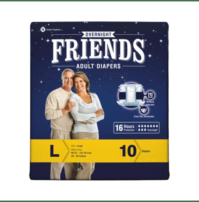 Friends Overnight Adult Diaper L
