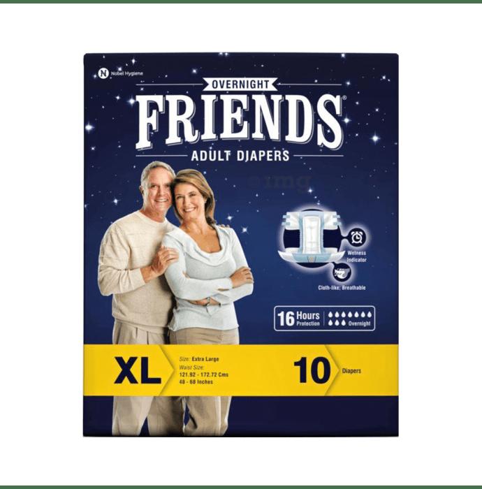 Friends Overnight Adult Diaper XL