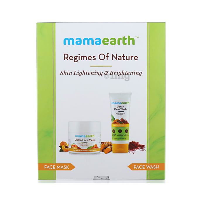 Mamaearth Skin Lightening & Brightening Kit