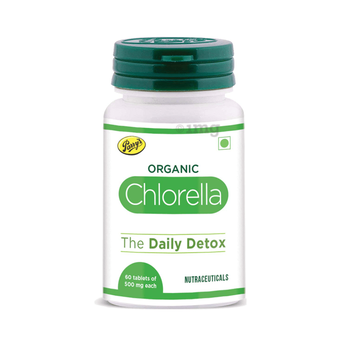 Parry's Organic Chlorella 500gm Tablet