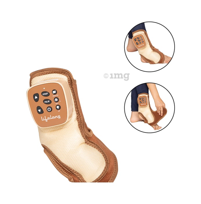 Lifelong LLM207 Rechargeable Ankle Massager Brown