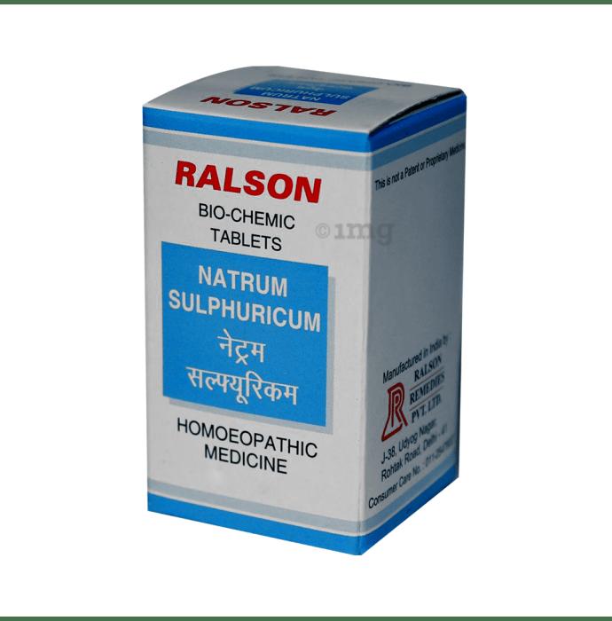 Ralson Natrum Sulphuricum Biochemic Tablet 12X