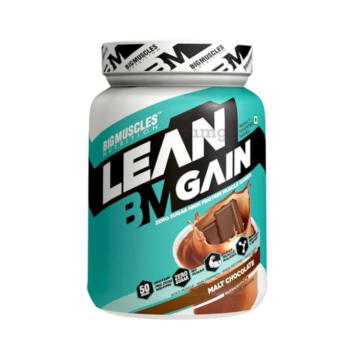 Big  Muscles Lean Gain Milk Chocolate