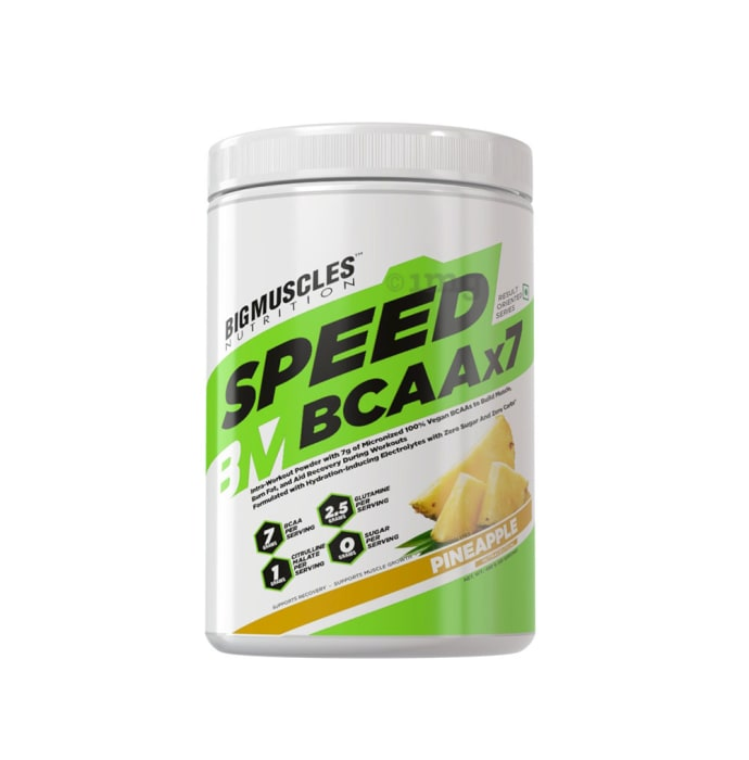 Big  Muscles Nutrition Speed BCAAx7 Pineapple